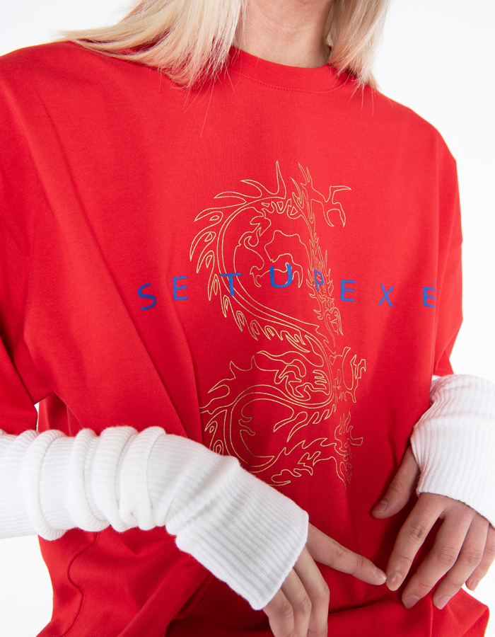Dragon T-shirt - Red