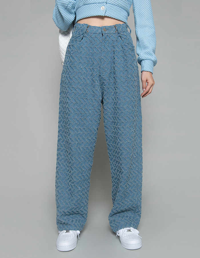 Waist hook denim PT - light blue